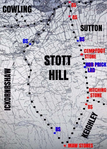 Stott Hill Manor, its border stones and neighbours, by Robin Longbottom and Chris Riley